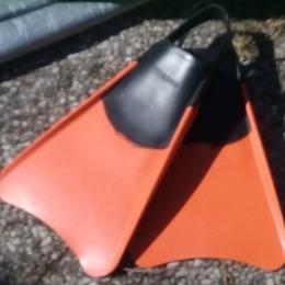 Palmes bodyboard taille L (42-43)