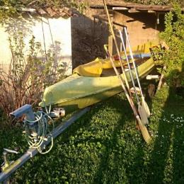 Canoé Kayak en fibre de verre
