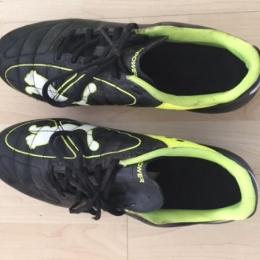Chaussures de rugby, crampons fer vissés Puma evo power 4