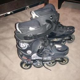Rollerblade T45 + roues de rechange + orotextions