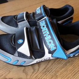 Chaussures vélo route BTwin Racing 600