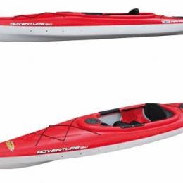 Kayak BIC Adventure 120 rouge