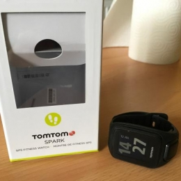 TOMTOM SPARK SMALL NOIRE