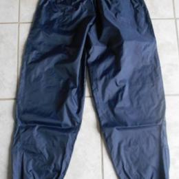 pantalon imperméable bleu taille XL