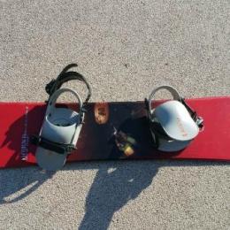 snowboard no limit hammer rouge
