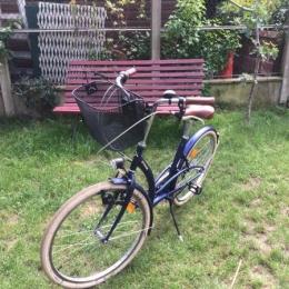 Vélo Elops 320 bleu