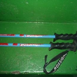 paire de bâtons de ski alpin enfant