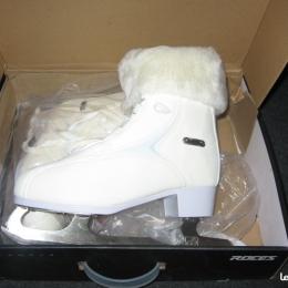 Patins a glace modèle FUR white