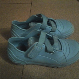 chaussures non marking Kid50 turquoise 35 à scratch