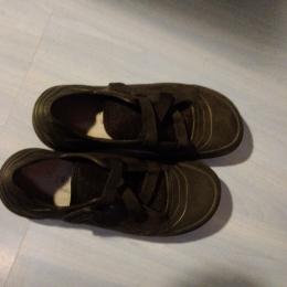 chaussures non marking noires 36 à scratch