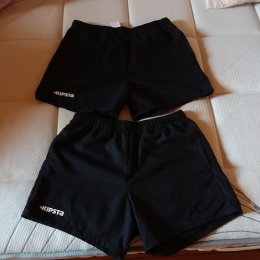 Shorts rugby adulte full H100 noir