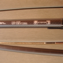 Canne carpe tribal shimano velocity 12 pieds 3.25 lb