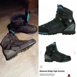 Chaussures Mammut ridge high gtx