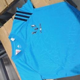 Tee shirt Adidas Messi bleu noir 7 8 ans