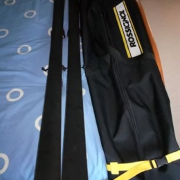 PACK SKIS + CHAUSSURES + HOUSSE